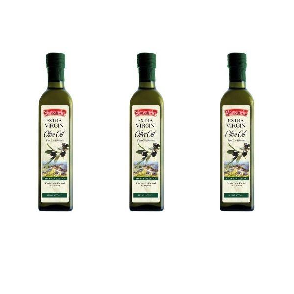 BUY 2 GET 1 FREE – Bottles of Mansanella Extra Virgin Olive Oil 750 ml*3