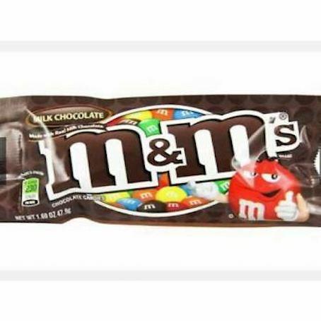 M&M milk chocolate by feta