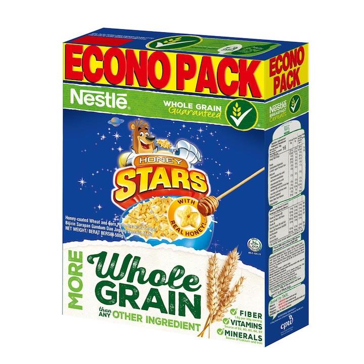 NESTLE HONEY STARS Cereal Econopack 500gr