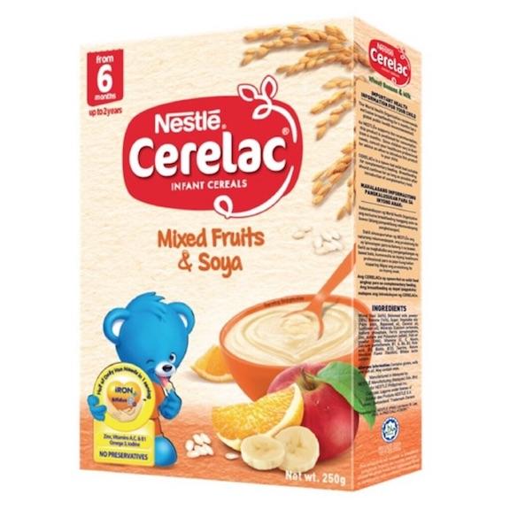 Nestle Cerelac Baby Food Mixed Fruits Soya 250g Feta