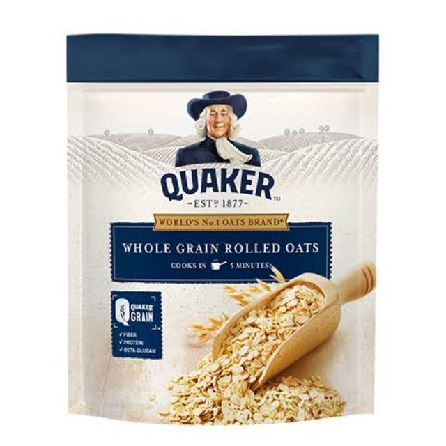 Quaker Whole Grain Rolled Oats 1.2kg feta