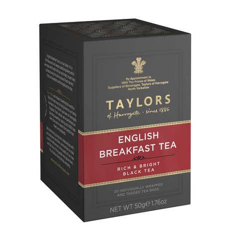 Taylors of Harrogate English Breakfast Tea 50g, 20 Tea Bags Product of UK