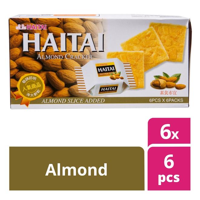 haitai crackers almond by feta