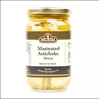 molinera marinated by feta
