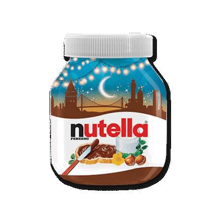 Nutella Hazelnut Spread 750g – Special Edition GLASS JAR