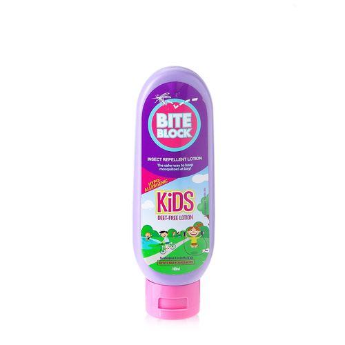 Bite Block Kid's Insect Repellent Lotion 100ml feta