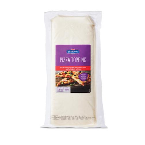 Emborg Pizza Topping Cheese Block 2.3kg Feta
