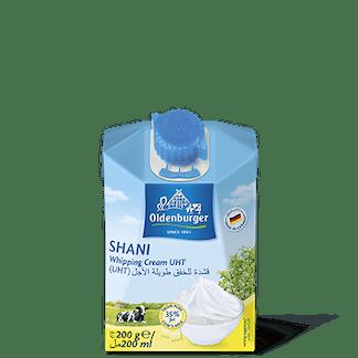 Oldenburger Shani Whipping Cream 200ml Halal Feta