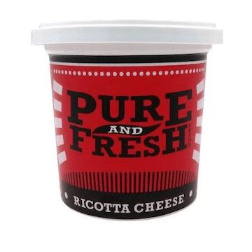 Pure and Fresh Ricotta Cheese 200g Feta