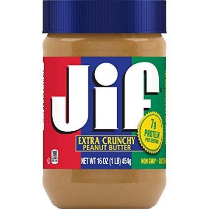 jif crunchy by feta