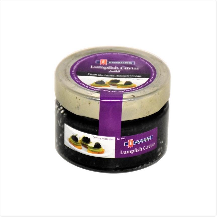 Emborg Black Lumpfish Caviar 100g Feta