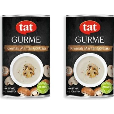 Tat Gourmet Cream of Mushroom Soup 420g feta 2